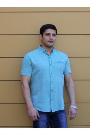 Рубашка с коротким рукавом 819