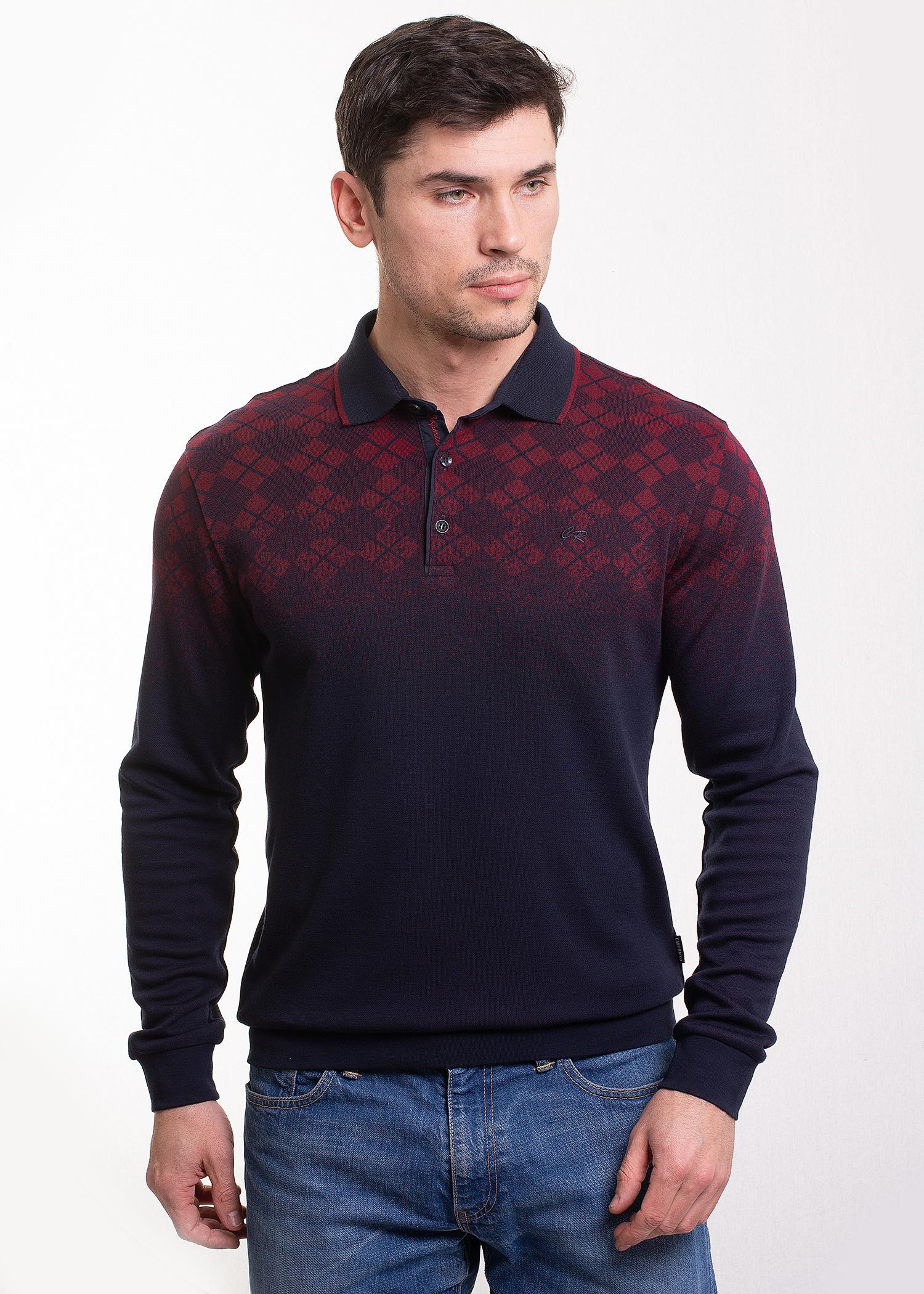 Рубашка поло Caporicco в А. 9025  купить оптом в Москве