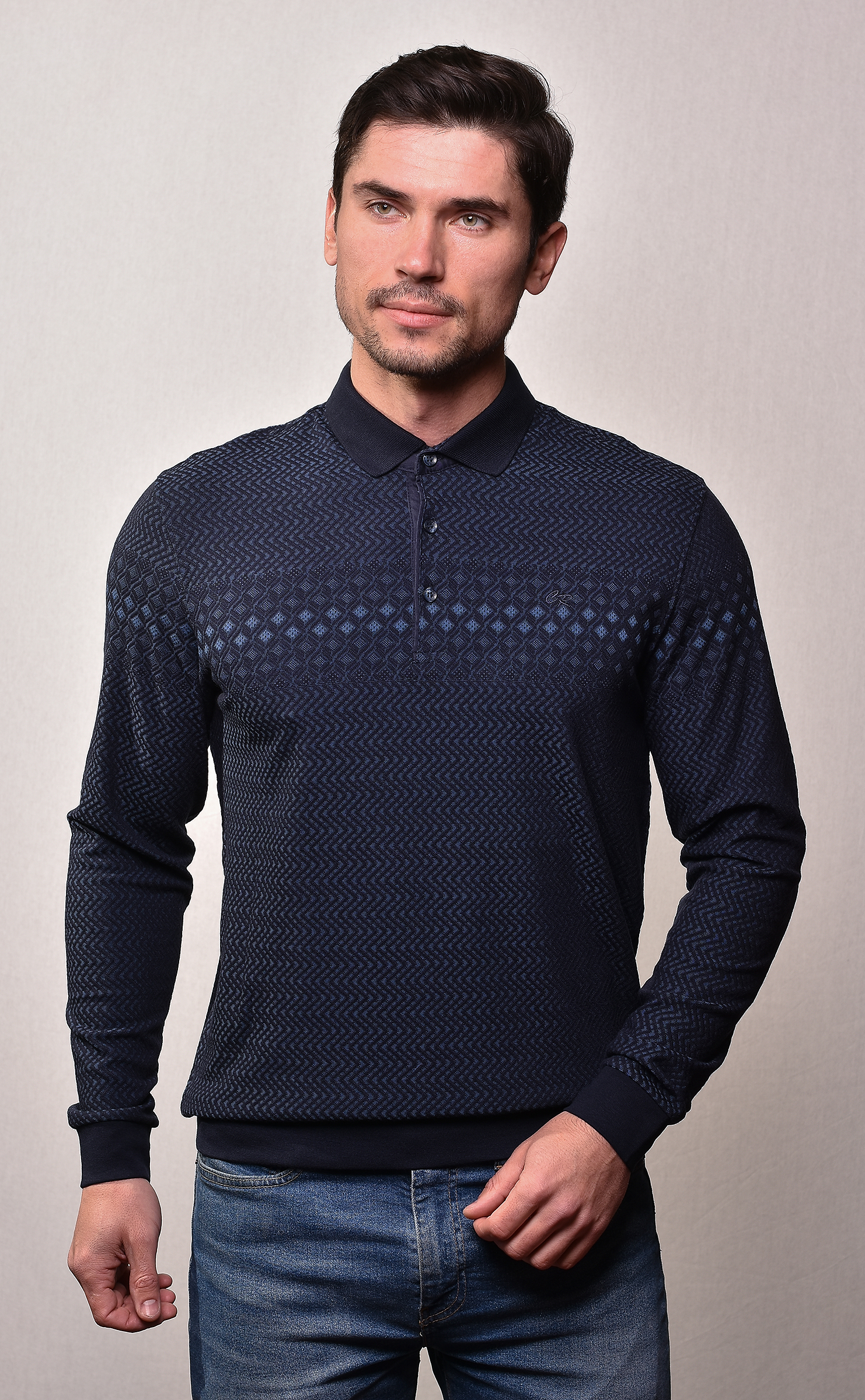 Рубашка поло Caporicco А. 9009 купить оптом в Москве