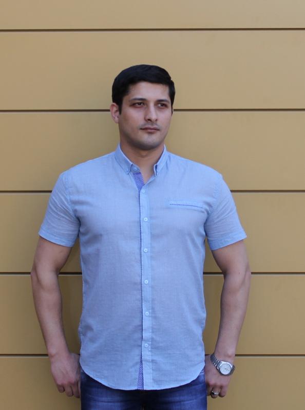 Рубашка с коротким рукавом 823